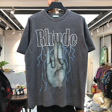 2020 Rhude T-shirt New Men Women Casual Rhude