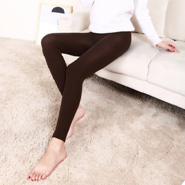 Casual Warm Faux Velvet Winter Leggins Women Leggings