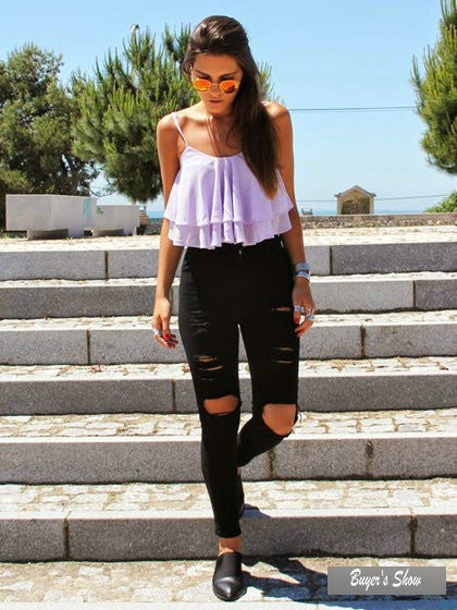 Summer Style Skinny Mujer