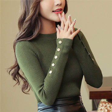 New 2020 Autumn Women Knitted Sweaters