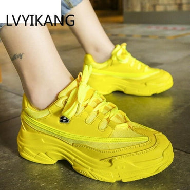 New Designer Sneakers Women Platform Casual Shoes Fashion