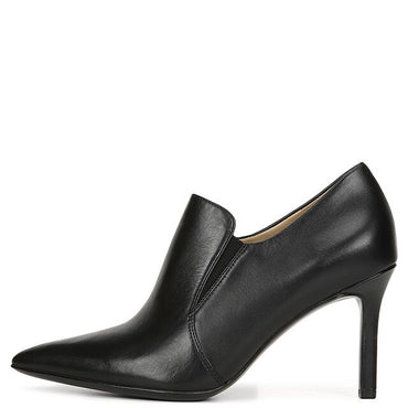 Black Patent Leather High Thin Heels Ankle Boots Woman