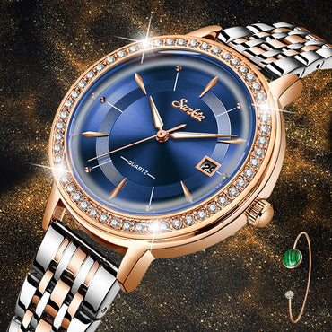 Fashion Women Watches Rose Gold Ladies Bracelet