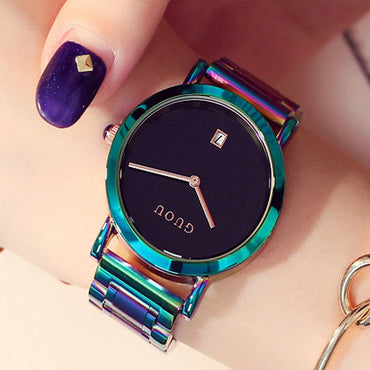 Women's Watches Colorful Montre Femme Ladies Watch Bracelet