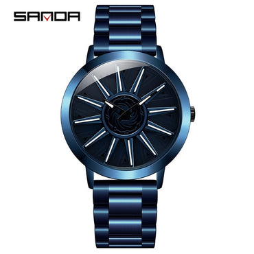 Brand New Men Watch Stainless Steel Strap Business Outdoor Sports Quartz