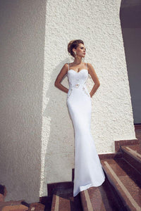 Best Sell Sheath Unique Wedding Dresses