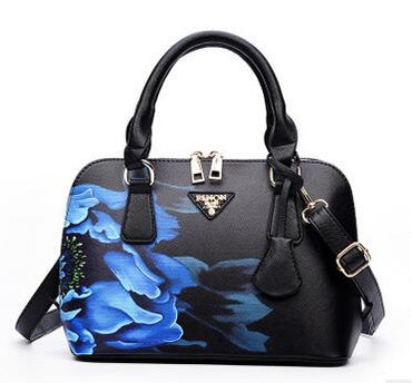 Printed Luxury leather  shell package new women handbag