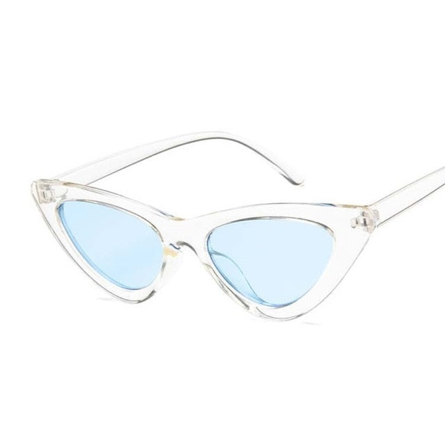 Vintage Cateye Sunglasses Women Sexy Retro Small Cat Eye
