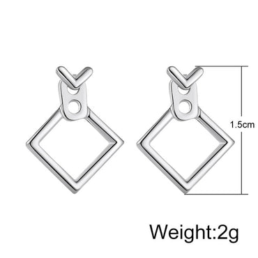 Creative Minimalist Geometric Drop Earrings For Women