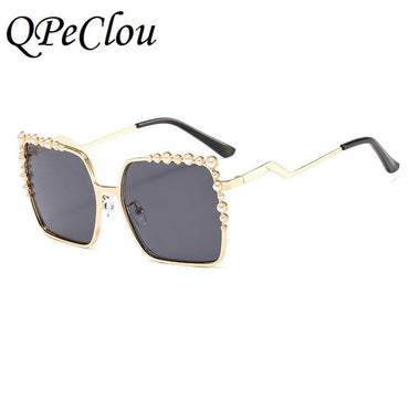 2020 New Luxury Pearl Sunglasses Women