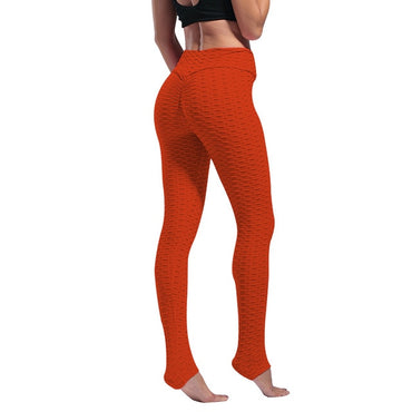 Women Leggings Anti Cellulite Sexy High Waist Pull Up Skinny Trousers