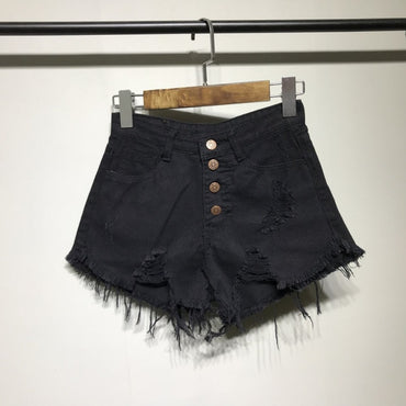Denim shorts women shorts jeans