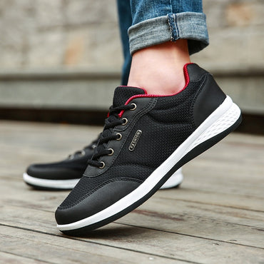 New Men Shoes Lace-Up Fashion Breathable