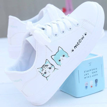 New Arrival Fashion Lace-up Women Sneakers