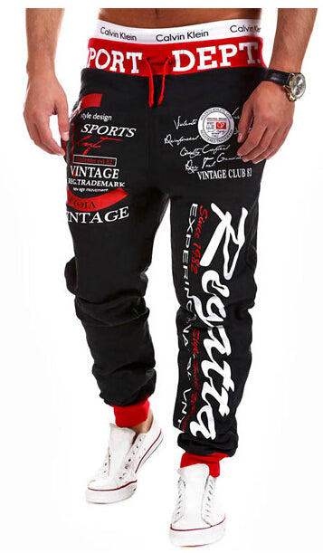 New Brand arrival Men Sport Pants Long Trousers