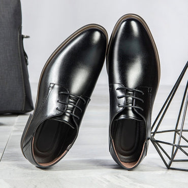 New  spring and summer new men's business dress shoes