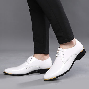 New fashion Men Dress Shoes Quality Leather Casual Shoes