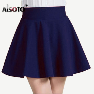 Summer sexy Skirt for Girl Korean cute Short Skater