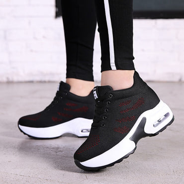 New Platform Sneakers Shoes Breathable Casual Shoes Woman Fashion