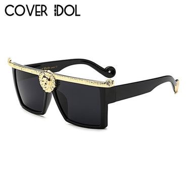 New Fashion Designer Square Sunglasses Women