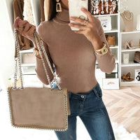 Litthing New Arrival Sweaters Women 2020 Bodysuit Jumper Femme Hot Sale
