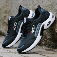 New Men Shoes Air Cushion Sneakers Breathable Outdoor Walking