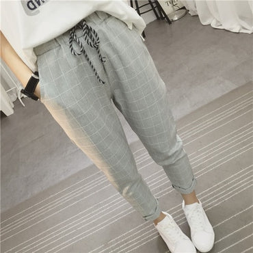 Women's Pants New Summer Casual Loose Harem Pants Cotton