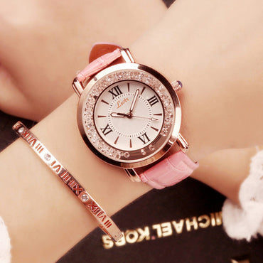 Luxury Women Watches Magnetic Starry Sky Female Clock Quartz Wristwatch