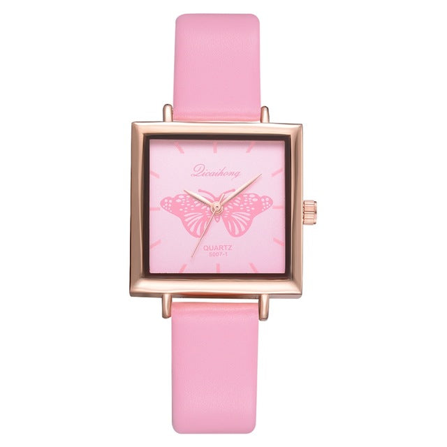 Dropshiping New Top Brand Square Women Bracelet Watch