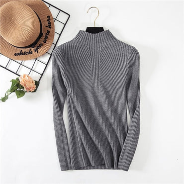 New Women's Turtleneck Sweater Women