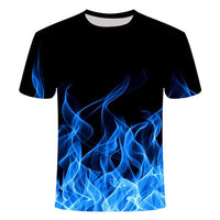 2020 new 3d t shirt Black Tee Casual Top Camiseta Streatwear Short Sleeve