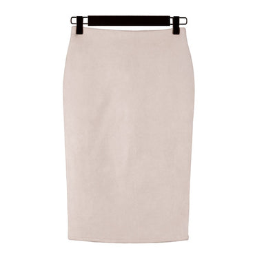 New Women Skirts Summer Plus Size Knee-Length Pencil Skirt
