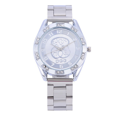 Relogios Femininos New Luxury Brand Bear Fashion Diamond Quartz Watches Chasy Women