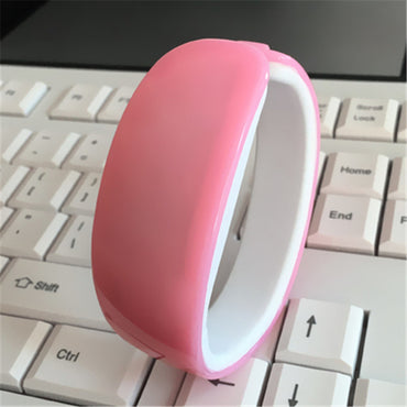 2020 New Candy Color Dolphin Bracelet Watch Band Digital Watch Red LED Watches women