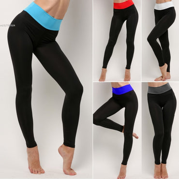 2020 New Women\'s Sexy Black High Waist Sprot Pants Fitness Fashion Leggings