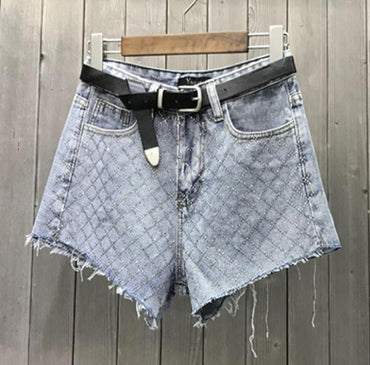 New spring summer denim shorts women