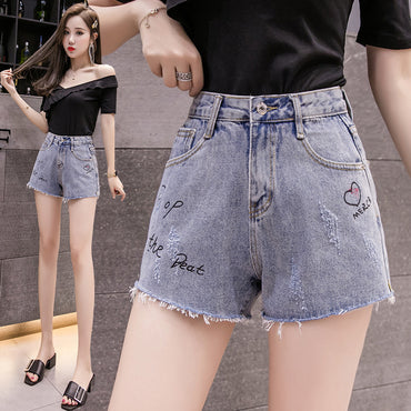 Summer Wear New Style Denim Shorts