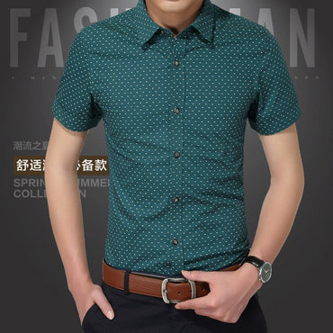 Hot 2020 Summer New Fashion Brand Clothing Men Short Sleeve Shirt