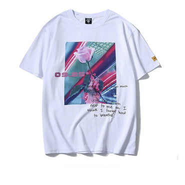 Fashion New Men T-shirt Printing  Male T Shirts