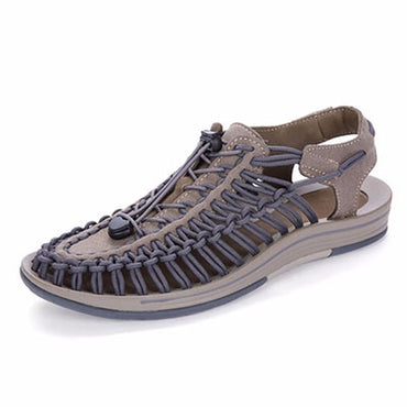 New Sandals Men's Summer Men's Shoes Soft Bottom Hole Shoes Beach