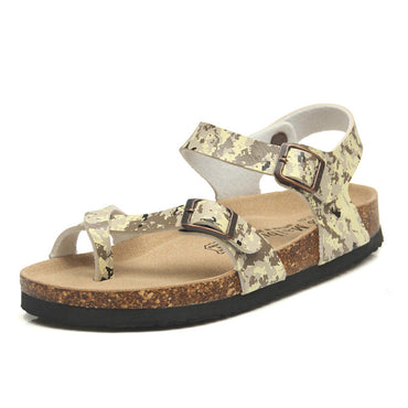 Fashion Outside Cork Sandals 2020 New Women Casual Summer Beach