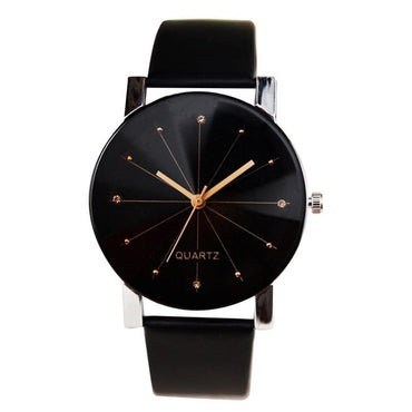Elegant Quartz Wristwatches Leather Belt couple watch Women Watches