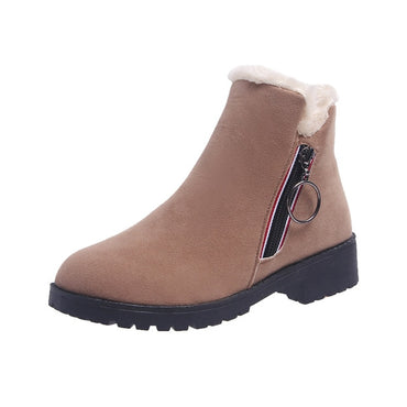 New Fashion Platform Winter Boots Women Shoes Black Martin