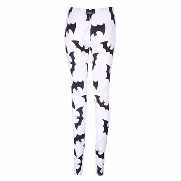 KLV Digital Batman Prints Leggings Women Fashion Slim Elastic Pants Trousers New