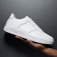New Sneakers Men Leather Casual Shoes Men