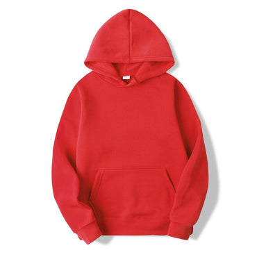 New Casual BALCK WHITE RED PINK GRAY HOODIE Hip Hop Streetwear