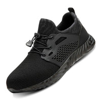 New Breathable Mesh Safety Shoes Men Safety Boots Work