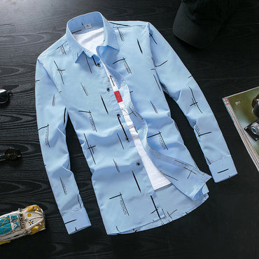 Hot selling men's fashion casual  work Shirts MC112