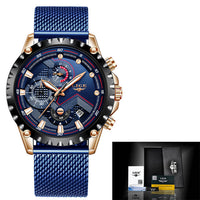 New Men Watches Top Luxury Brand Fashion Sport Waterproof
