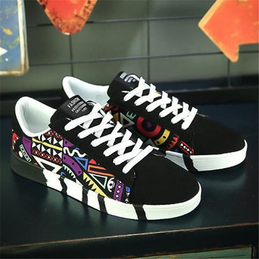 New men shoes Autumn Sneakers Fashion Canvas